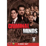 Criminal Minds - Sesong 8 (DVD)