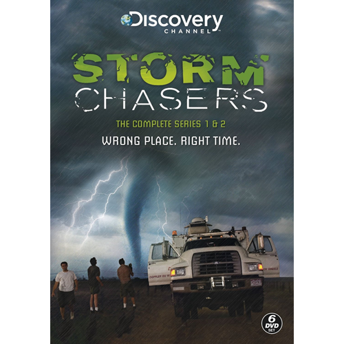 Storm Chasers - Sesong 1 & 2 (UK-import) (DVD)
