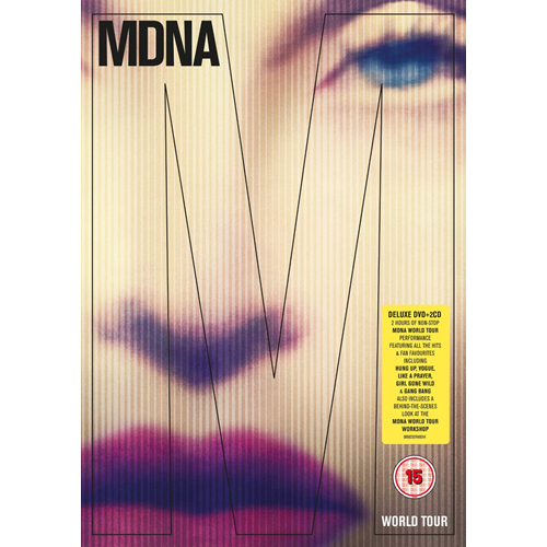 Madonna - MDNA Tour: Deluxe Edition (m/2CD) (DVD)