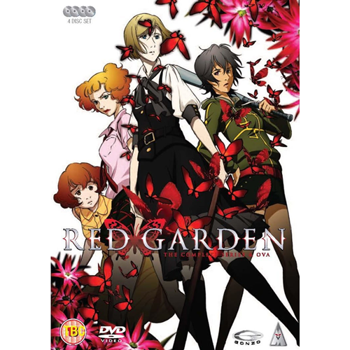 Red Garden - The Complete Series & OVA (UK-import) (DVD)