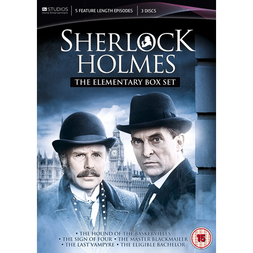 Sherlock Holmes - The Elementary Box Set (UK-import) (DVD)