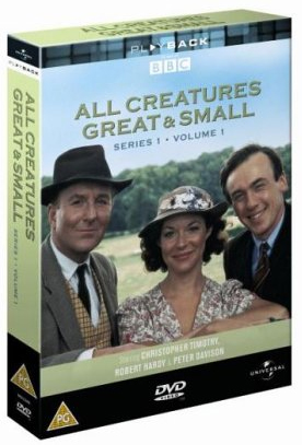 All Creatures Great And Small - Sesong 1 - Del 1 (UK-import) (DVD)