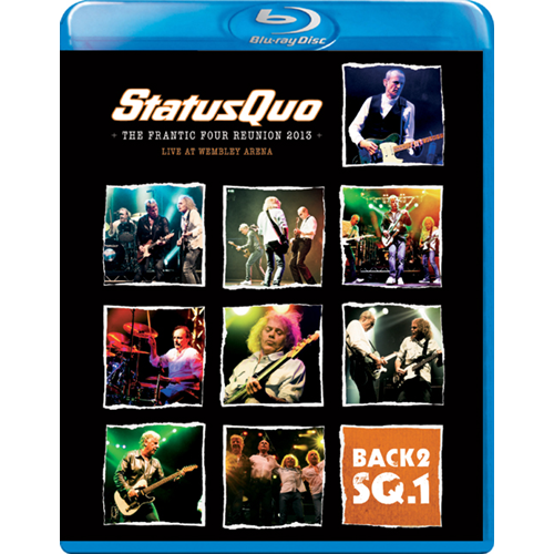 Status Quo - Back 2 SQ1: The Frantic Four Reunion 2013 (Blu-ray + CD)