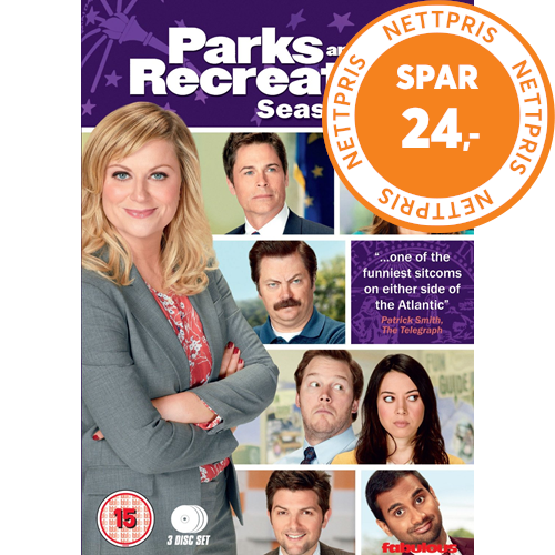 Parks And Recreation - Sesong 5 (UK-import) (DVD)