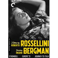 3 Films By Roberto Rossellini Starring Ingrid Bergman - Criterion Collection (DVD - SONE 1)