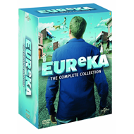 Eureka - The Complete Series (UK-import) (DVD)