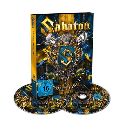 Sabaton - Swedish Empire Live (2DVD)