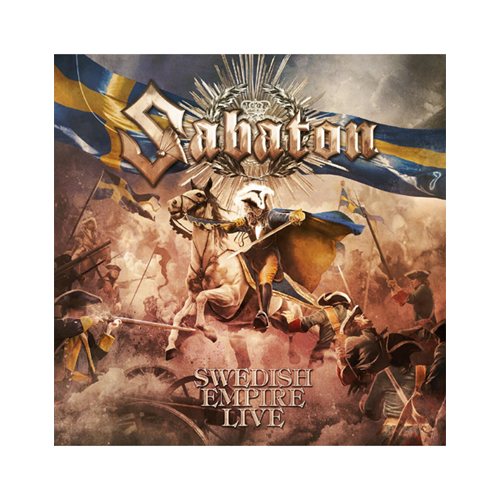 Sabaton - Swedish Empire Live: Limited Earbook Edition (3 DVD + 2 Blu-ray + CD)
