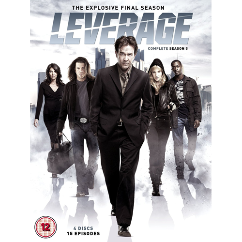 Leverage - Sesong 5 (UK-import) (DVD)