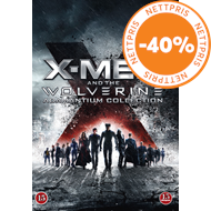 Produktbilde for X-Men And The Wolverine - The Adamantium Collection (DVD)