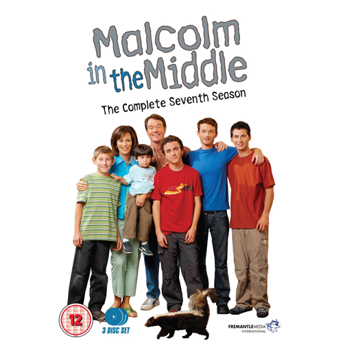 Malcolm In The Middle - Sesong 7 (UK-import) (DVD)