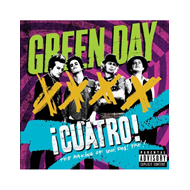 Green Day - ¡CUATRO! The Making Of ¡Uno!, ¡Dos! ¡Tré! (DVD)