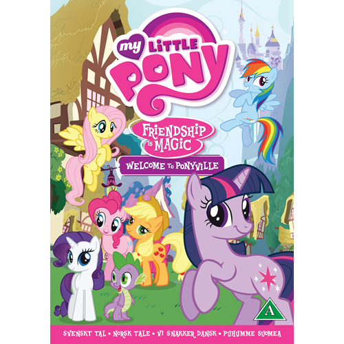 My Little Pony - Friendship Is Magic - Welcome To Ponyville (UK-import) (DVD)
