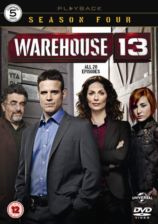 Warehouse 13 - Sesong 4 (UK-import) (DVD)