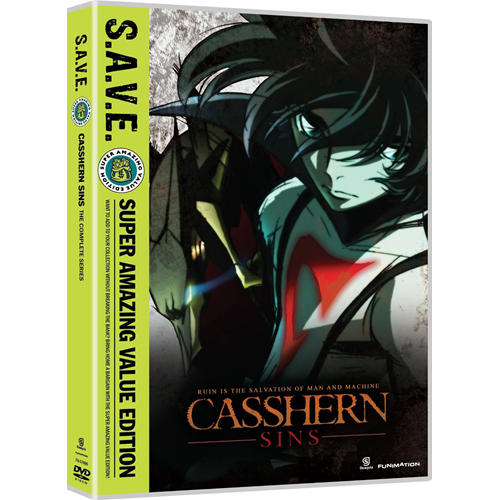 Casshern Sins -  The Complete Series (DVD - SONE 1)
