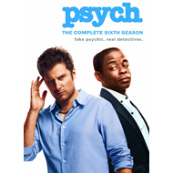 Psych - Sesong 6 (UK-import) (DVD)