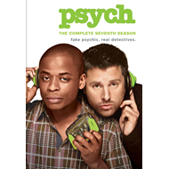 Psych - Sesong 7 (UK-import) (DVD)