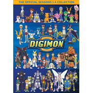 Digimon: Digital Monsters - The Official Seasons 1-4 Collection (DVD - SONE 1)
