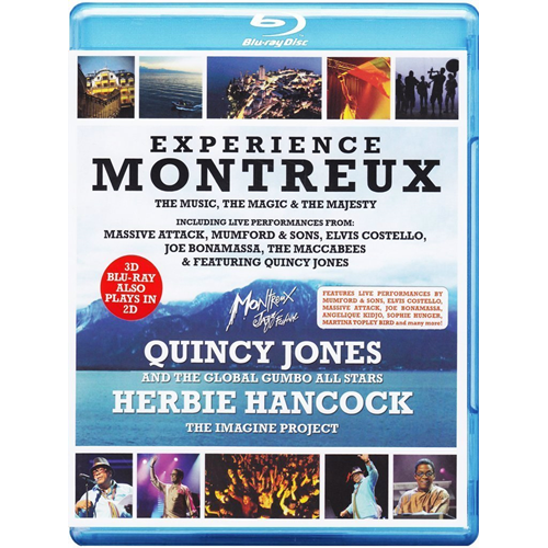 Experience Montreux (UK-import) (Blu-ray 3D + Blu-ray)