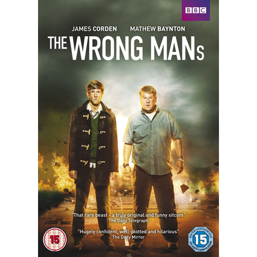 The Wrong Mans - Sesong 1 (UK-import) (DVD)