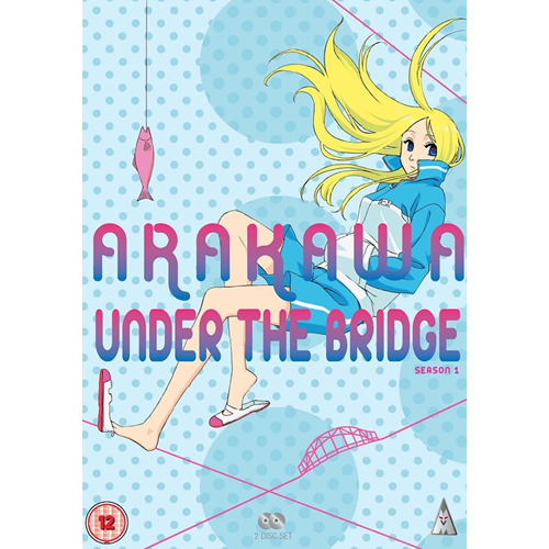 Arakawa Under The Bridge - Sesong 1 (UK-import) (DVD)