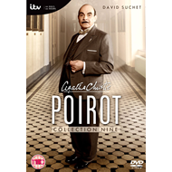 Poirot - Collection 9 (Sesong 13) (UK-import) (DVD)