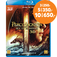 Produktbilde for Percy Jackson - Monsterhavet (Blu-ray 3D + Blu-ray)