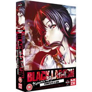 Black Lagoon - Roberta's Blood Trail - Complete 5 OVA (UK-import) (DVD)