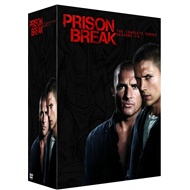 Prison Break - Sesong 1-4 (DVD)