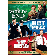 The Three Flavours Cornetto Trilogy (UK-import) (DVD)
