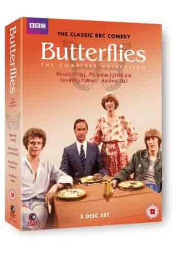 Butterflies - Complete Collection (UK-import) (DVD)