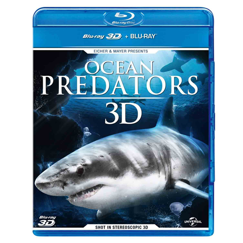 Ocean Predators (UK-import) (Blu-ray 3D + Blu-ray)