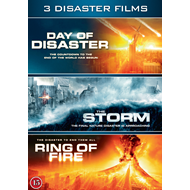 3 Disaster Films - Day Of Disaster / The Storm / Ring Of Fire (DVD)