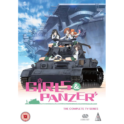 Girls Und Panzer - Complete TV Series (UK-import) (DVD)