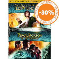 Produktbilde for Percy Jackson - Lyntyven / Monsterhavet (DVD)