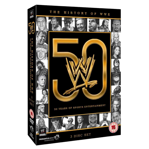 The History Of The WWE - 50 Years Of Sports Entertainment (UK-import) (DVD)