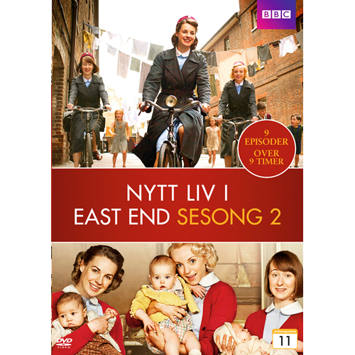 Call The Midwife / Nytt Liv I East End - Sesong 2 (DVD)