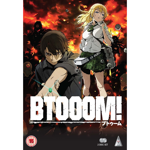 BTOOOM! - Complete Collection (UK-import) (DVD)