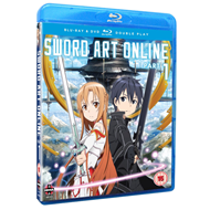 Sword Art Online - Part 1 (UK-import) (Blu-ray + DVD)