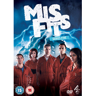Misfits - Sesong 5 (UK-import) (DVD)