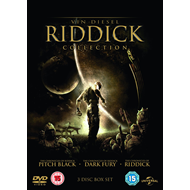 The Riddick Collection (UK-import) (DVD)