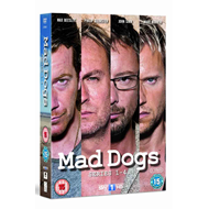 Mad Dogs - Sesong 1-4 (UK-import) (DVD)