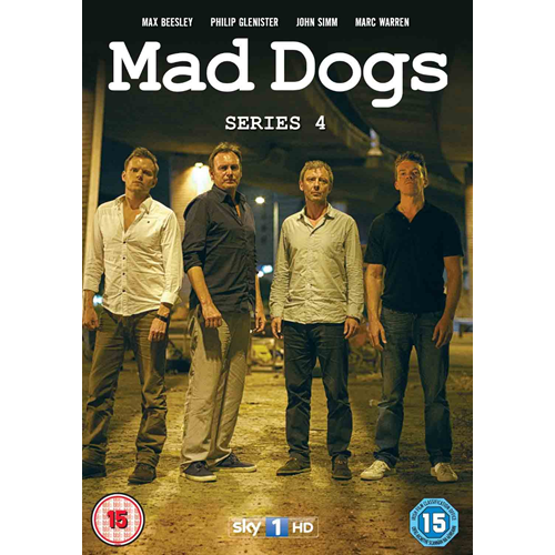 Mad Dogs - Sesong 4 (UK-import) (DVD)