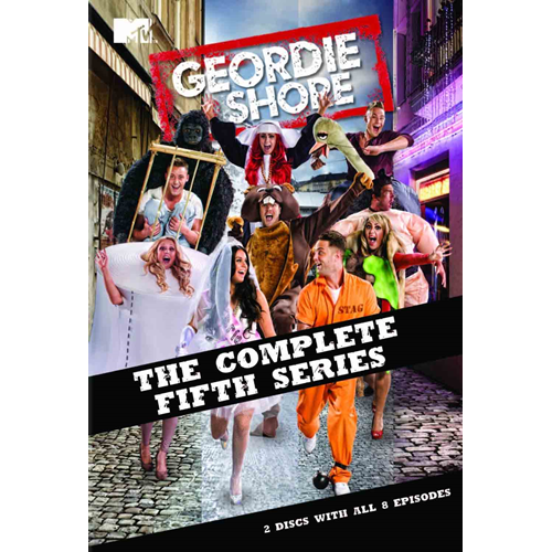 Geordie Shore - Sesong 5 (UK-import) (DVD)