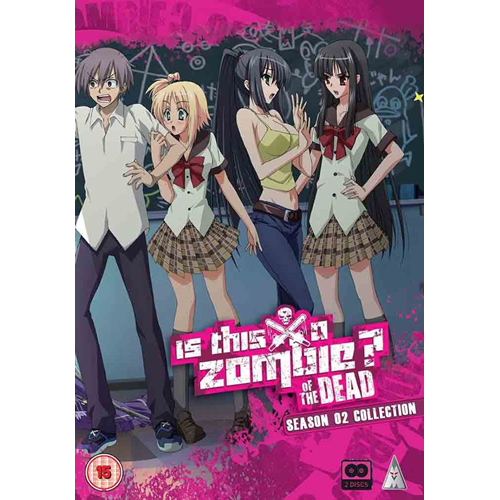 Is This A Zombie Of The Dead? - Season 2 Collection (UK-import) (DVD)