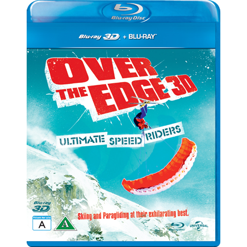Over The Edge - Ultimate Speed Riders (Blu-ray 3D + Blu-ray)