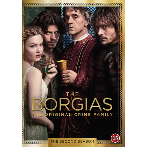 The Borgias - Sesong 2 (DVD)