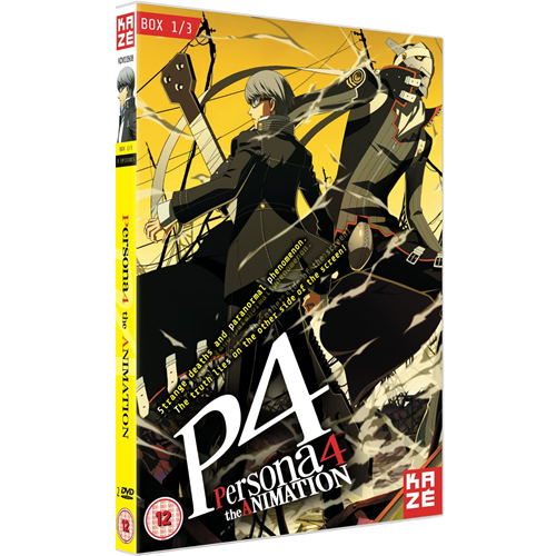 Persona 4 - The Animation - Box 1 (UK-import) (DVD)