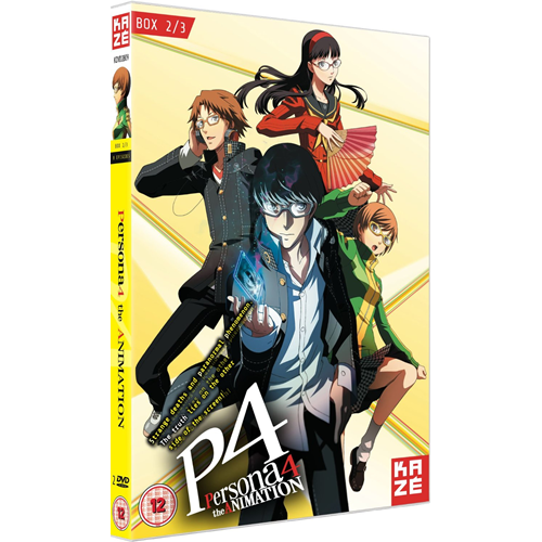 Persona 4 - The Animation - Box 2 (UK-import) (DVD)
