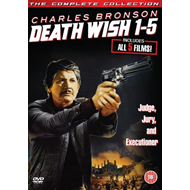 Death Wish 1 - 5 (UK-import) (DVD)